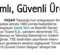 İzmir 9 Eylül Gazetesi - 19.08.2020