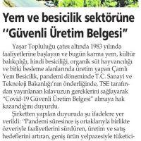 Yenigün İzmir - 19.08.2020