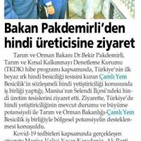 Yenigün Gazetesi - 07.09.2020