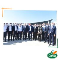 A Visit From Mr. Pakdemirli To The Turkey Producer Of Çamlı!