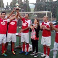 Çamlı Yem Çalışanları Futbol Turnuvası'nda Biraraya Geldi