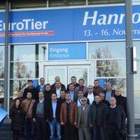 Çamlı İş Ortaklarıyla 2012 Eurotier Fuarı'nda