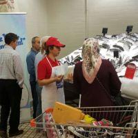 Pınar Balık'tan Real Hiparmarket'e Özel Aktivite