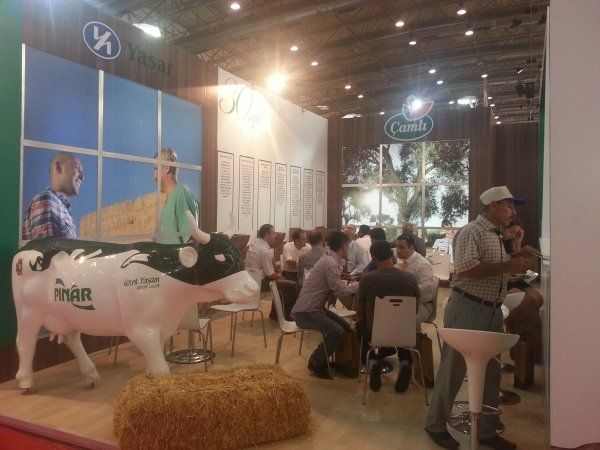 Çamlı Showed The Flag in Agroexpo