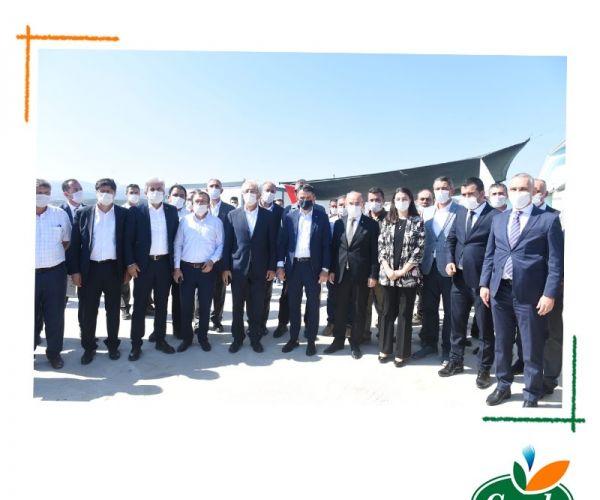 A Visit From Mr. Pakdemirli To The Turkey Producer Of Çamlı!