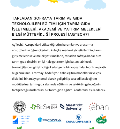 A Good Cooperation Between Çamlı Yem And Yaşar University In Agtech7 Agriculture Project!