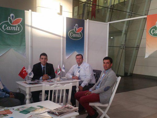 Çamlı Anadolu Expo Fuarı'nda Üreticilerle Buluştu