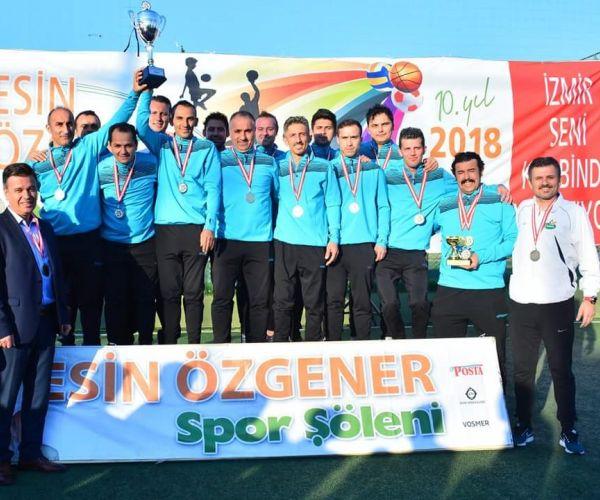 Çamlı'da Şampiyonluk Sevinci!