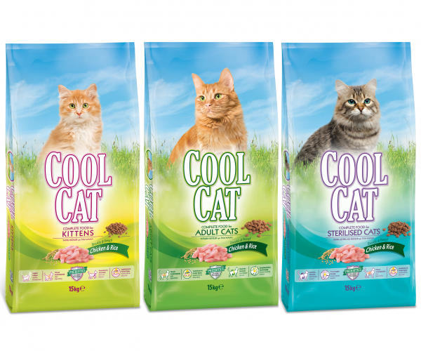 Çamlı' dan Yeni Ürün; Cool Cat Kedi Maması!