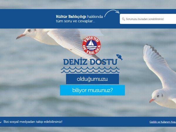 Kültürlü Balık Web Sitesi Yayında